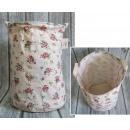 Großhandel Wäsche: Wäschekorb, Spielzeug (45x35 cm), rosa