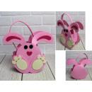 wholesale Handbags: Basket, Easter felt bag take 25x18 cm