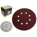 Disco, carta abrasiva, velcro spessore 180 mm p120
