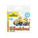 Pastelli 12 col Bambino Candlestick Minions