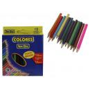 Ceruza ceruzák 8,5 cm új elit - 12 színben