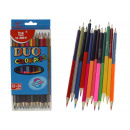 Two-sided pencil pencils big 17,5 cm - set of 1