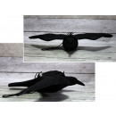 wholesale Figures & Sculptures: Garden figurine raven 54x39 cm