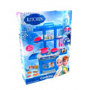 Kitchen + accessories blue mini kitchen 32x24x6