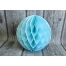 Papír gömb, papírpapír rozetta 30 cm - kék j