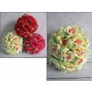 Sfera con rose fiori di 20 cm