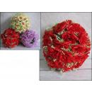 Sfera con rose fiori di 25 cm