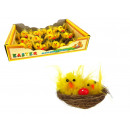 wholesale Coats & Jackets: Chicken with a  small chicken in the nest 5x3 cm -