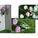 2 darab virág a pasztell száron 52x6 cm - 1 db