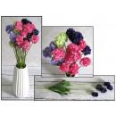 Virág, csokor virág fokhagyma 5 (h. 50 cm-es virág