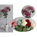 Stelo di fiori di pompon crisantemo 3 fiori (altez