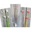 Decorative flower, grass with flowers 90 cm