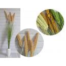 Hosszú zöld fű virág kúpokkal 5 darab (wy