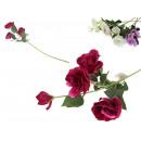 Virág gally eustoma 4 virág 70 cm - 1 darab
