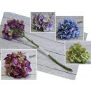grossiste Décoration: Hortensia fleurit 32 cm fleur 10 cm