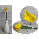 Schiuma di fiori di calla 35 cm giallo - 1 pezzo