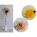 Crisantemo fiore gambo sfumato 65x19 cm mix k