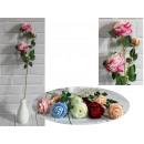 Virág angol rózsa 3 virágszár (magasság 60 cm,