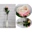 wholesale Home & Living: Flower rose developed stem mix color (height 50 cm