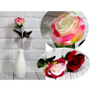 Flower rose with additions stem (height 37 cm, flo