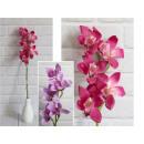 Orchid flower 62 cm pink stem