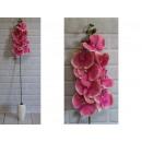 Stelo lungo fiore orchidea 105 cm # 205 - rosa chi