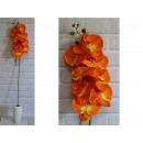 Stelo lungo fiore orchidea 105 cm # 179 - arancion