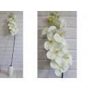 Orchidea virág hosszú szár 100 cm # 159 -fehér