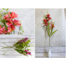wholesale Home & Living: Orchid flower stalk (3 flowers) 89 cm