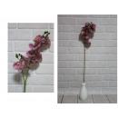 nagyker Dekoráció: Orchidea virágszár 90 cm gumi rózsaszín - 1 db