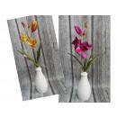groothandel Woondecoratie: Orchideebloem met wortel (36x9,5 cm)
