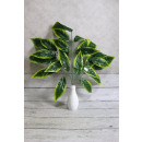 Artificial flower-leaves