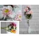 wholesale Artificial Flowers: Artificial flower Magnolia 5 flowers 55 cm, mix co