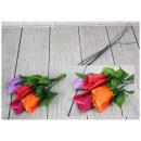 nagyker Művirágok: Művirág rózsa keverék színe 65 cm 41. sz