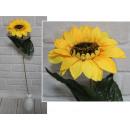 Stelo di girasole fiore artificiale 62x16 cm - 1 p