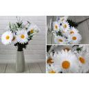 nagyker Művirágok: Mesterséges csokor 40 cm 6 virág (virág átmérője 1
