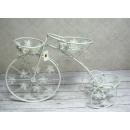 groothandel Fietsen & accessoires: Bloembed 3 metalen  bloemen fiets 73x24x52 cm