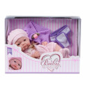 Baby doll, newborn baby so lovely in a carton: