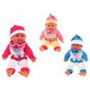 Großhandel Spielwaren:Puppe, Baby lacht, 36 cm