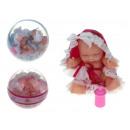 Baby doll in una palla da 10 cm - 1 pezzo