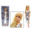 ingrosso Gioielli & Orologi: Bambola in vestito  da sera elegante con gioielli