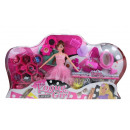 ingrosso Giocattoli: Bambola estetista + set di bellezza moderno