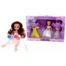 nagyker Licenc termékek: Doll hercegnő egy készlet ékszerek és ruha