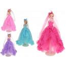 Une poupée dans une robe de bal basée sur 34 cm -