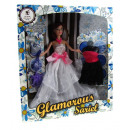 wholesale Dolls &Plush: Doll in ball gown  + accessories 30x34x15 cm