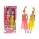 wholesale Dolls &Plush: Dolls set 2 pieces  in a carton (32x14 cm)