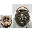 wholesale Wind Lights & Lanterns: Lantern, ball wound with a cord 19x11 cm