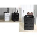 wholesale Wind Lights & Lanterns: White metal lantern, black Paris, London