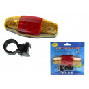 wholesale Bicycles & Accessories: Rear bicycle lamp new on blister 15x14 cm - 1