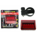 wholesale Sports & Leisure: Rear bicycle lamp blister 10.5x11 cm 1 piece